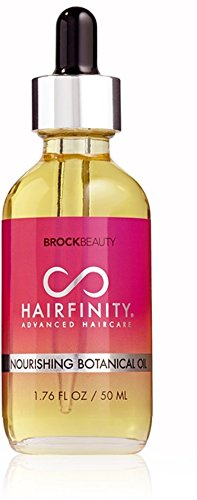 Hairfinity Nourishing Botanical Oil 100% Naturally Derived Ingredients & Essential Oils - Reduce Hair Breakage + Increase Shine & Elasticity 1.76 oz by Hairfinity