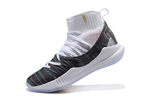 Bazi Sport Men's UA Basketball Sports High Top Curry 5 Shoes