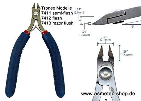 tronex 7413 - Cabeza de punta Alicates ergonómico - sin rebaje: Amazon.es: Bricolaje y herramientas