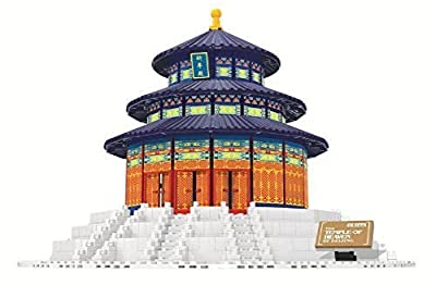 Beijing Temple of Heaven Blocks 1052 Pcs Set in Huge Gift Box !! World's Great Architecture Series