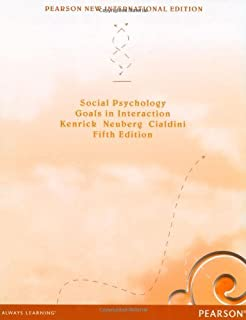Social Psychology Goals In Interaction 6th Edition Pdf