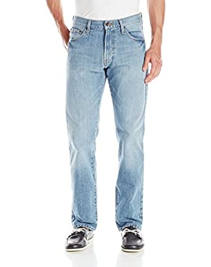 Men's Relaxed Light Hatch Jean, Hoklinblue, 31x30