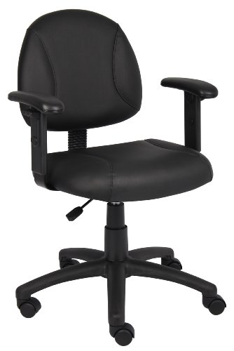Boss Office Products B306 Posture Task Chair with Adjustable Arms in ()