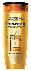16% discount on Loreal Paris Hex 6 Oil Shampoo, 640ml for Rs. 309 from Amazon India, Amazon. in