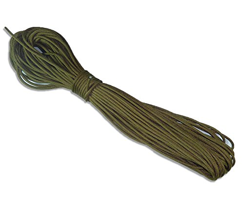 5col 750 Type 4 Paracord in Coyote Brown - MILC-5040H (100 Feet) by 5col Survival Supply (Image #1)