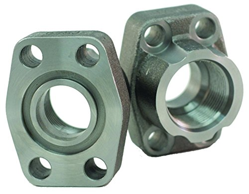 Dixon W46-32-32-U Code 61 4 Bolt Hydraulic O-Ring Flange, SAE Port and Pad, 2-1/2'' - 12'' UNF, 2'' by Dixon Valve & Coupling