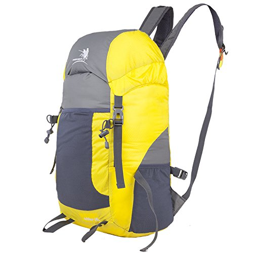 Bergsteigen Tasche 35LOutdoor Freizeitaktivitäten leichtes Wandern Bergsteigen floding Paket Taschen , Grau