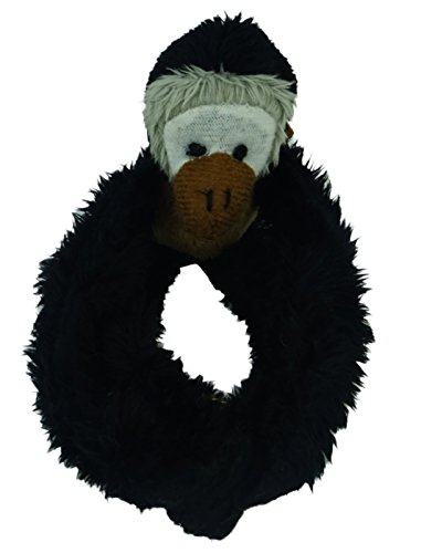 Soft Farm/Safari Fridge Magnets Magnetic Mates Animals - Various Animals (Black Monkey)