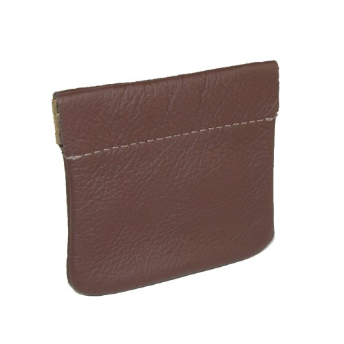 Goson Small Leather Squeeze Coin Pouch