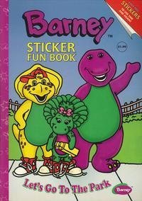 Barney Sticker Fun Book: Let's Go to the Park (1999-09-04)