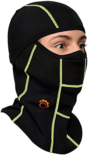 GearTOP Tactical Balaclava and Motocycle Face Mask, Black and -
