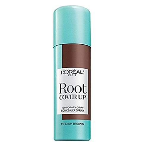 Loreal Root Cover Up Spray Medium Brown 2oz (2 Pack)