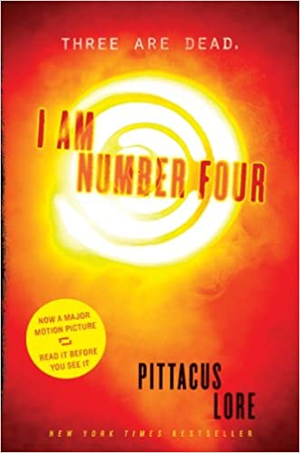 Image result for I Am Number Four by Pittacus Lore