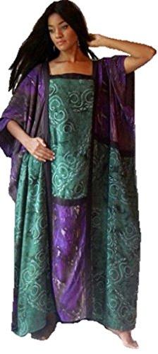 Batik Caftan Dress - 9