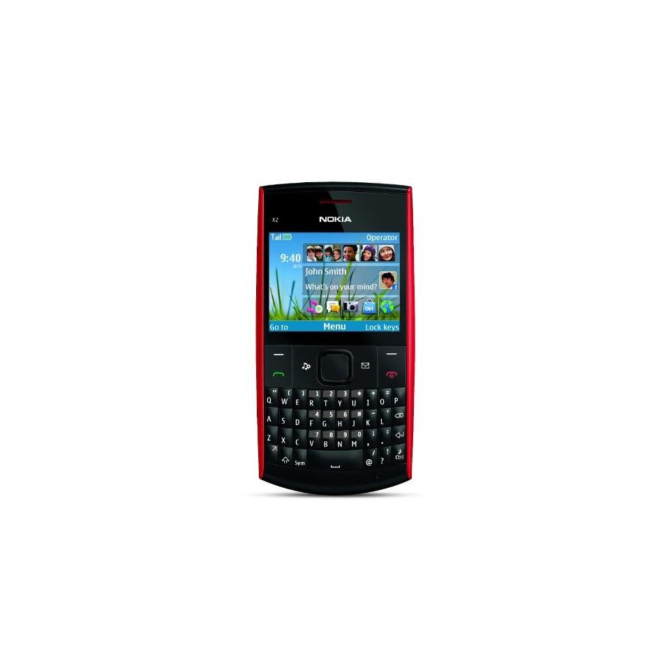 Nokia X2 01 Unlocked GSM Phone U.S. Version with Warranty