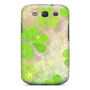 High-quality Durability Case For Galaxy S3(clover Leaves 2)