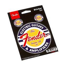 Buy fender guitar logo sticker