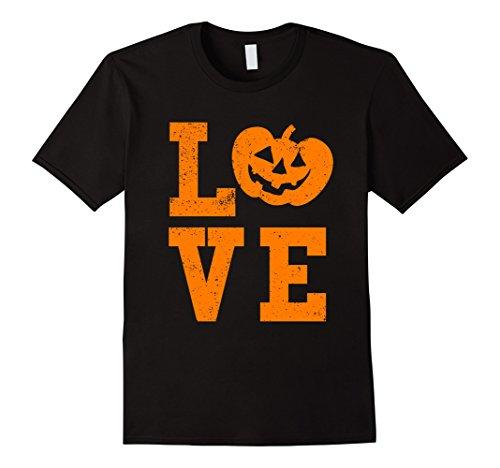 Mens I Love Halloween Shirt Funny Jack O' Lantern Pumpkin Party 3XL Black -