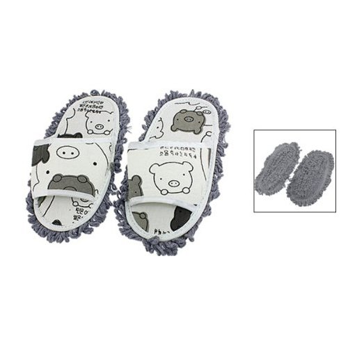 Sonline Floor Cleaning Mopping Slippers