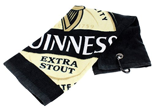 Guinness Label Golf Towel by Guinness Official Merchandise