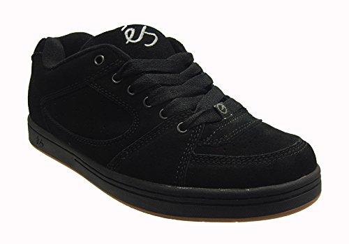 銛排除するマウンドエス (es) ACCEL BLACK (28.5cm) スケートボード シューズ スニーカー スケボー スケシュー