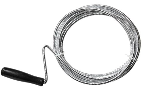 Professional Slow Drain Cleaner and Clog Remover - 10 Foot Long - Metal Hair Catcher, Sink Dredge Pipeline Cleaner - For Bathroom Tub, Toilet, & Sink, Kitchen Sink, & Septic Tool (10 Foot)