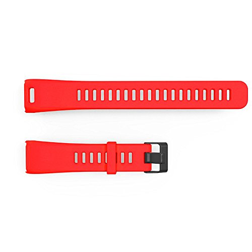 Vansee❤❤New Replacement Soft Silicone Bracelet Strap Wrist Band for Garmin Vivosmart HR (Red)