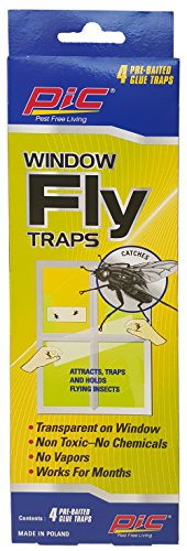 PIC Window Fly Traps, 4Count - FTRP ()