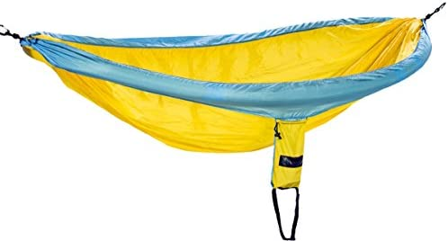 onewind XL Double Single Camping Hammock Bundle Includes Tree Straps, Mosquito Net, Ridgeline, Double Ended Stuff Sack