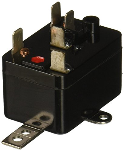 Supco 90293 General Purpose Fan Relay, 1 A Load Current, 24 V Coil Voltage, Single Pole Double Throw Contacts