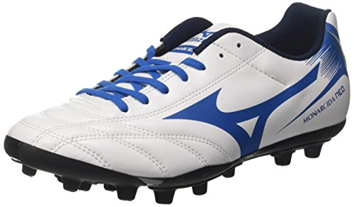 Mizuno Men's Monarcida Neo Ag Footbal Shoes Multicoloured (White/Navy/Blue) 7WkQTIhZ