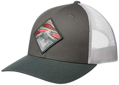 (Columbia Women's Snap Back Hat, Titanium/Mountain Patch, One Size)