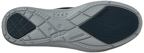 Crocs Womens Walu Ii Canvas Mocassino Blu / Argento