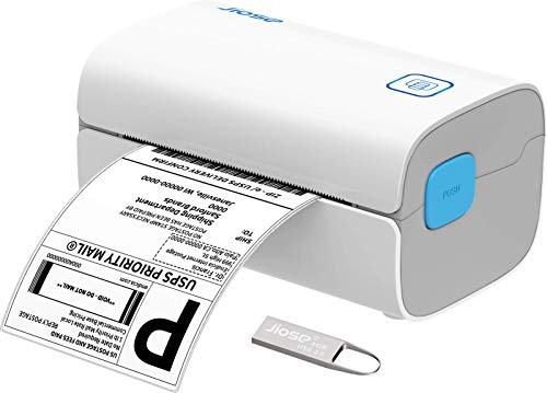 Thermal Label Printer – Jiose Shipping Label Printer Maker, 4×6 Label Printer for Small Business, USPS Printing Label…