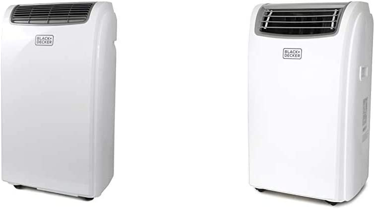 BLACK+DECKER BPACT08WT Portable Air Conditioner, 8,000 BTU, White & Black + Decker BPACT14WT Portable Air Conditioner, 14,000 BTU