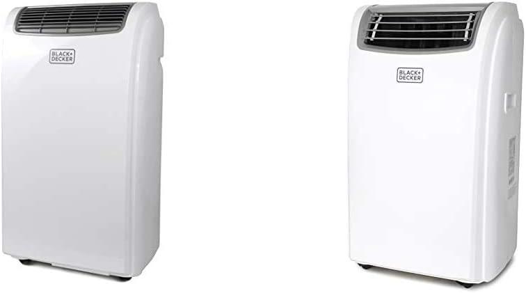 BLACK+DECKER BPACT08WT Portable Air Conditioner, 8,000 BTU, White & Black + Decker BPACT14WT Portable Air Conditioner, 14,000 BTU
