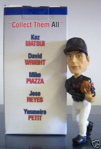 David Wright St Lucie Mets Baseball SGA - 08/28/04 (mini) Bobblehead