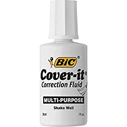 BIC Corporation Multipurpose Correction Fluid WOC12WEDZ