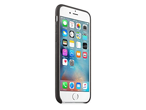 Apple MKXW2ZM/A IPhone 6/6S Leder Hülle Schwarz: Amazon.de: Elektronik