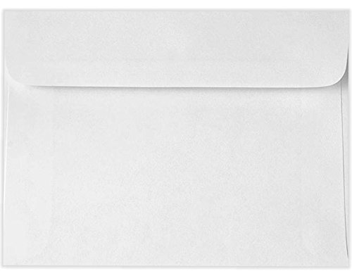 5 1/2 x 8 1/2 Booklet Envelopes - 24lb. Bright White (50 Qty.) Envelopes Store