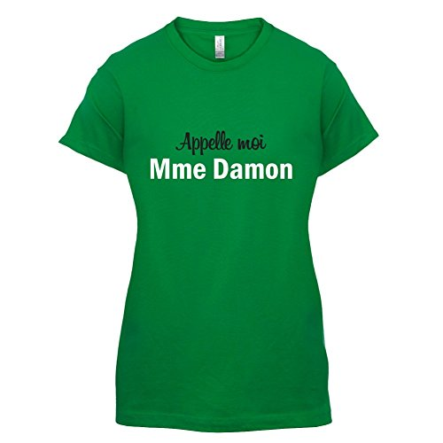 Apelle Moi Madame Damon - Femme T-Shirt - Vert - M