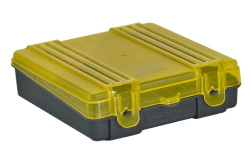 Plano 100 Count Handgun Ammo Case (for 9mm and .380ACP Ammo), Outdoor Stuffs