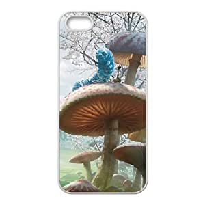 iPhone 5 5s Cell Phone Case White Alice in Wonderland Character Alice YR110468