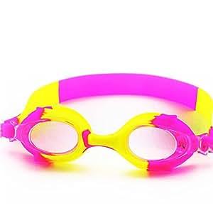 Axiba Gafas para Niños Color Silicona Anti-vaho Gafas de Natación HD