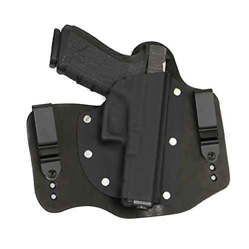 FoxX Holsters Glock 20 & 21 in The Waist Band Hybrid Holster (Black)