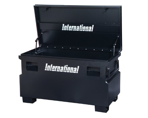 48 Inch Tool Box (International JSB-4824BK 48-Inch Job Site Box, Black)