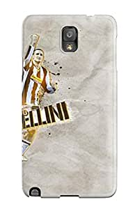 Anti-scratch And Shatterproof Giorgio Chiellini Phone Case For Galaxy Note 3/ High Quality Tpu Case