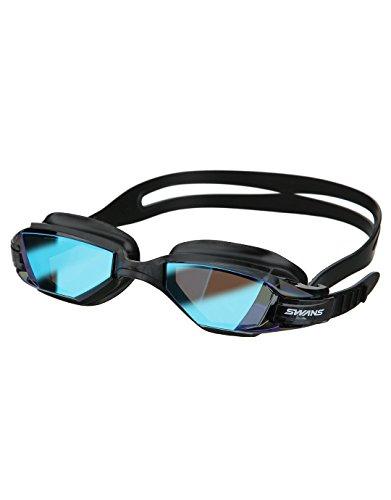 cygnes Eau libre Sept Miroir pour masque de ski Blue