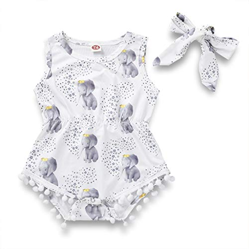 Girls Cloting - LuoLee Newborn Baby Girl Elephant Cartton