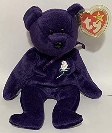 Amazon Com 1997 Princess Diana Memorial Ty Beanie Baby Mint With